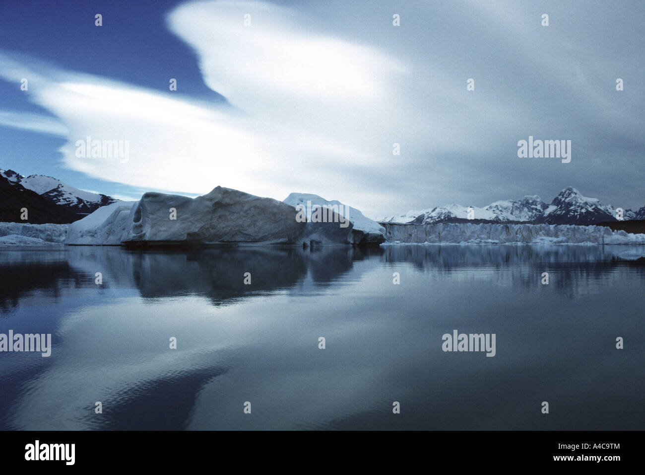 upsala glacier,los glacieres national park,  patagonia, argentina Stock Photo