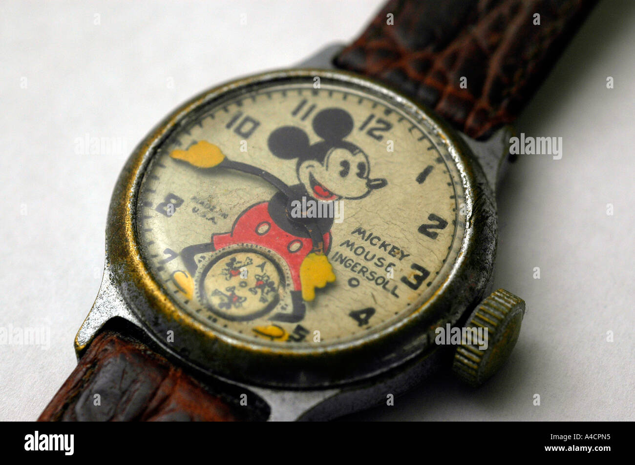 1933 Ingersoll Mickey Mouse - Stock Image