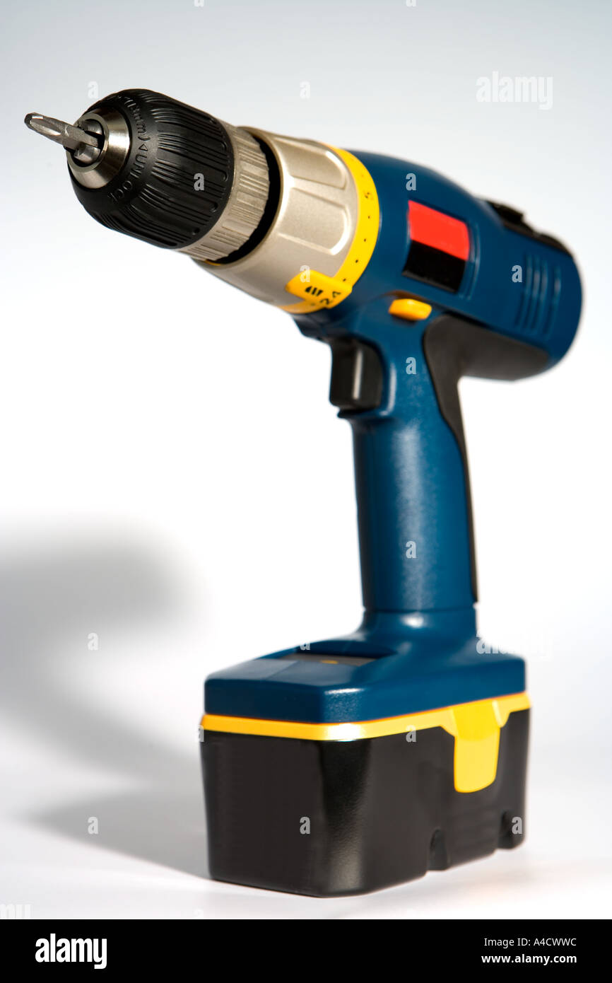 Electric drill. - Stock Image
