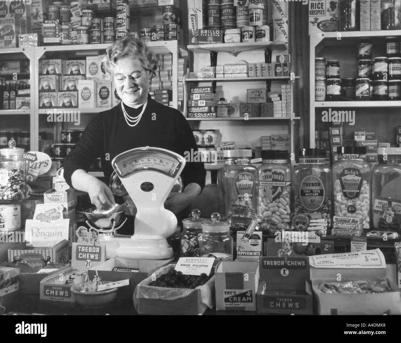 Image result for 1950 corner shop