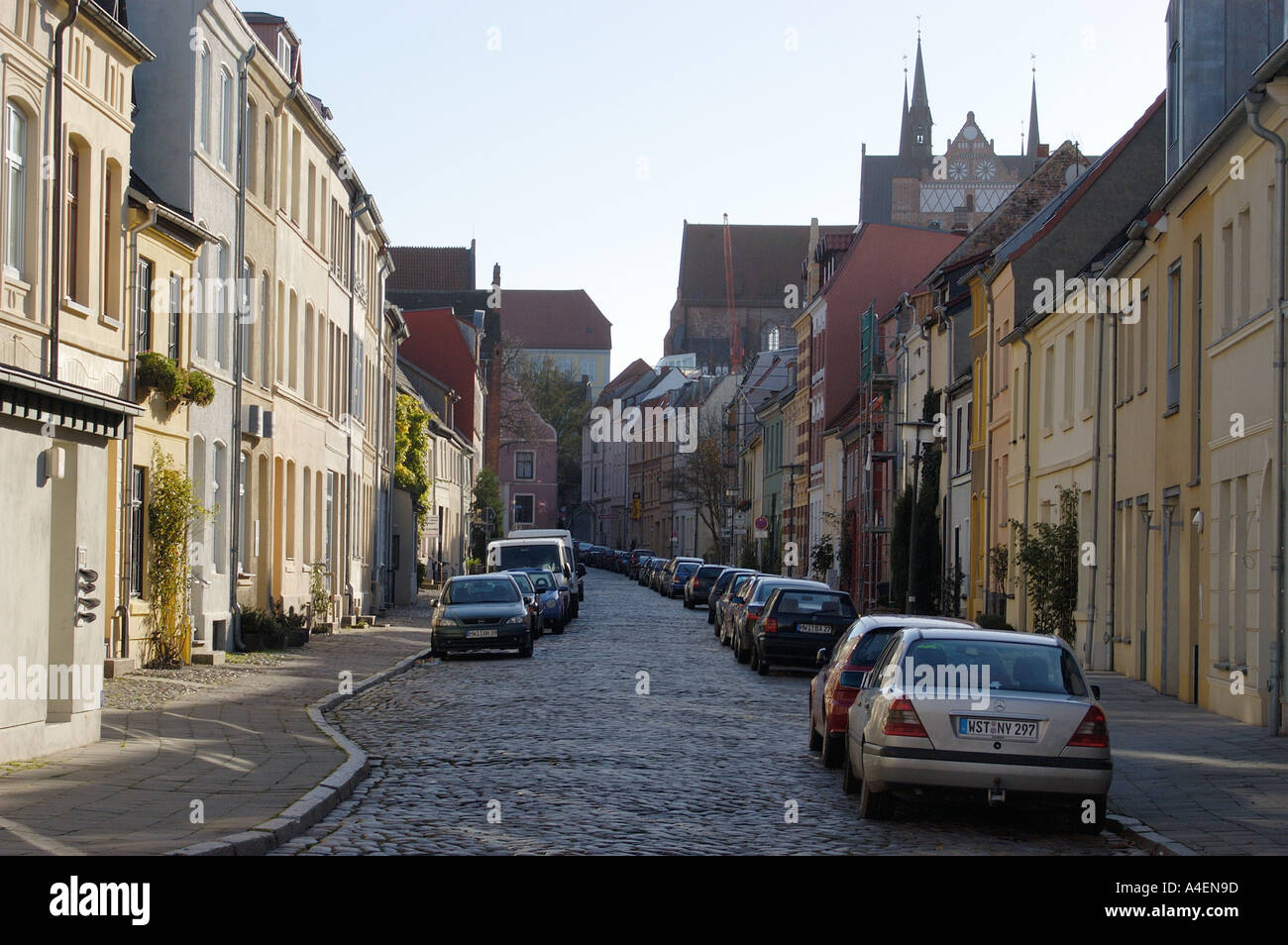 Wismar - Stock Image