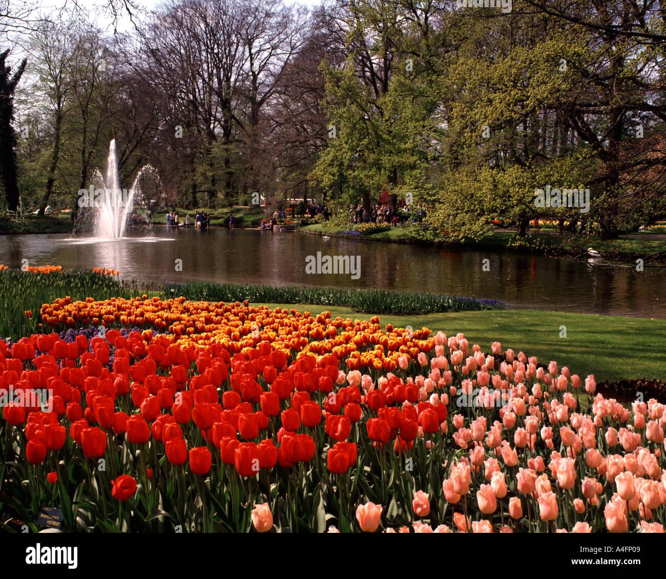 Keukenhof Gardens, Lisse, Holland Stock Photo: 3602952 - Alamy