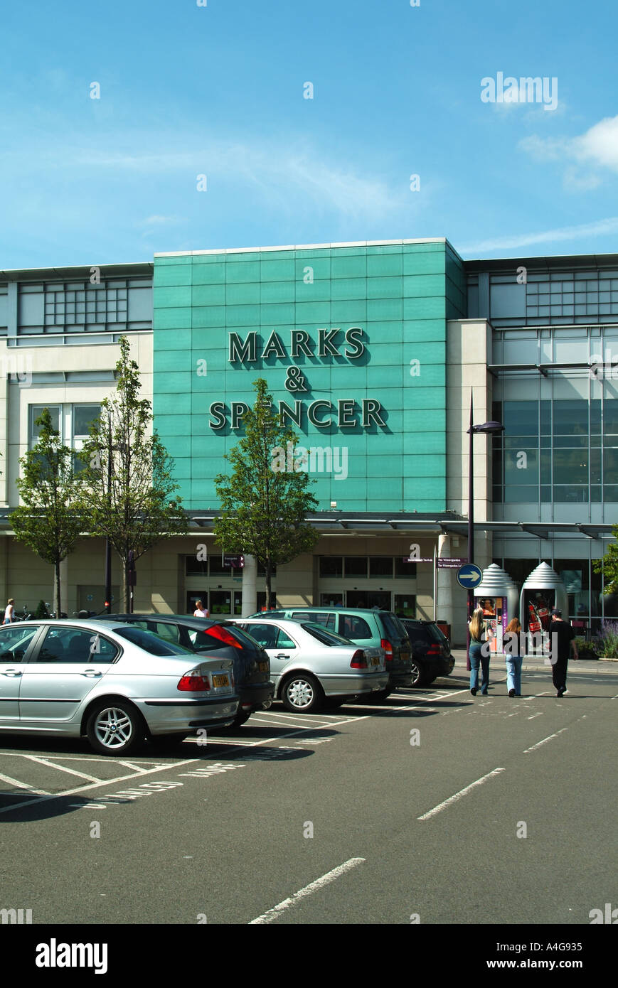 Part of the Bluewater shopping complex includes Marks and