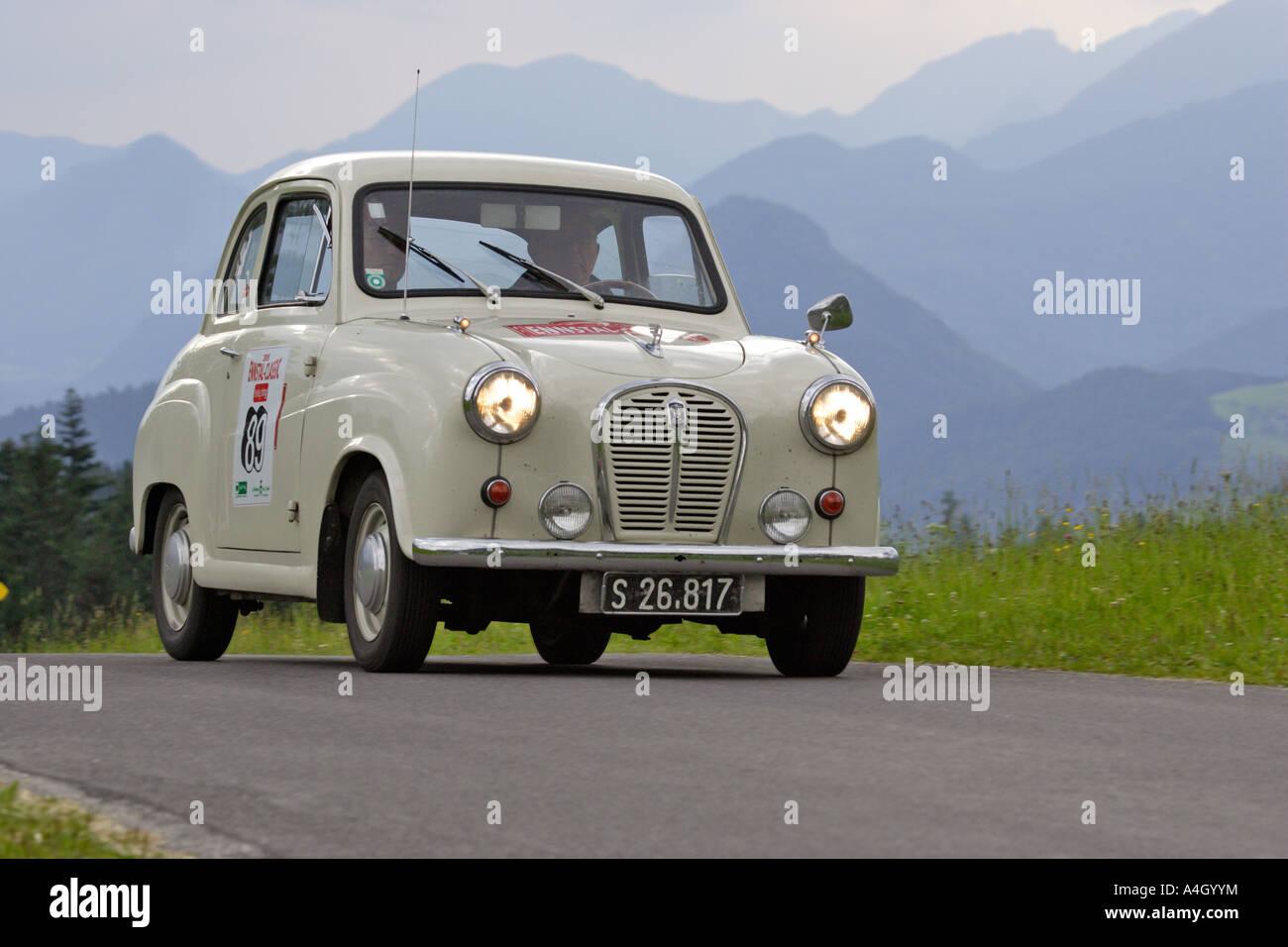 Triumph TR 3 built 1956, oldtimer race Ennstal Classic 2005, Styria, Austria - Stock Image