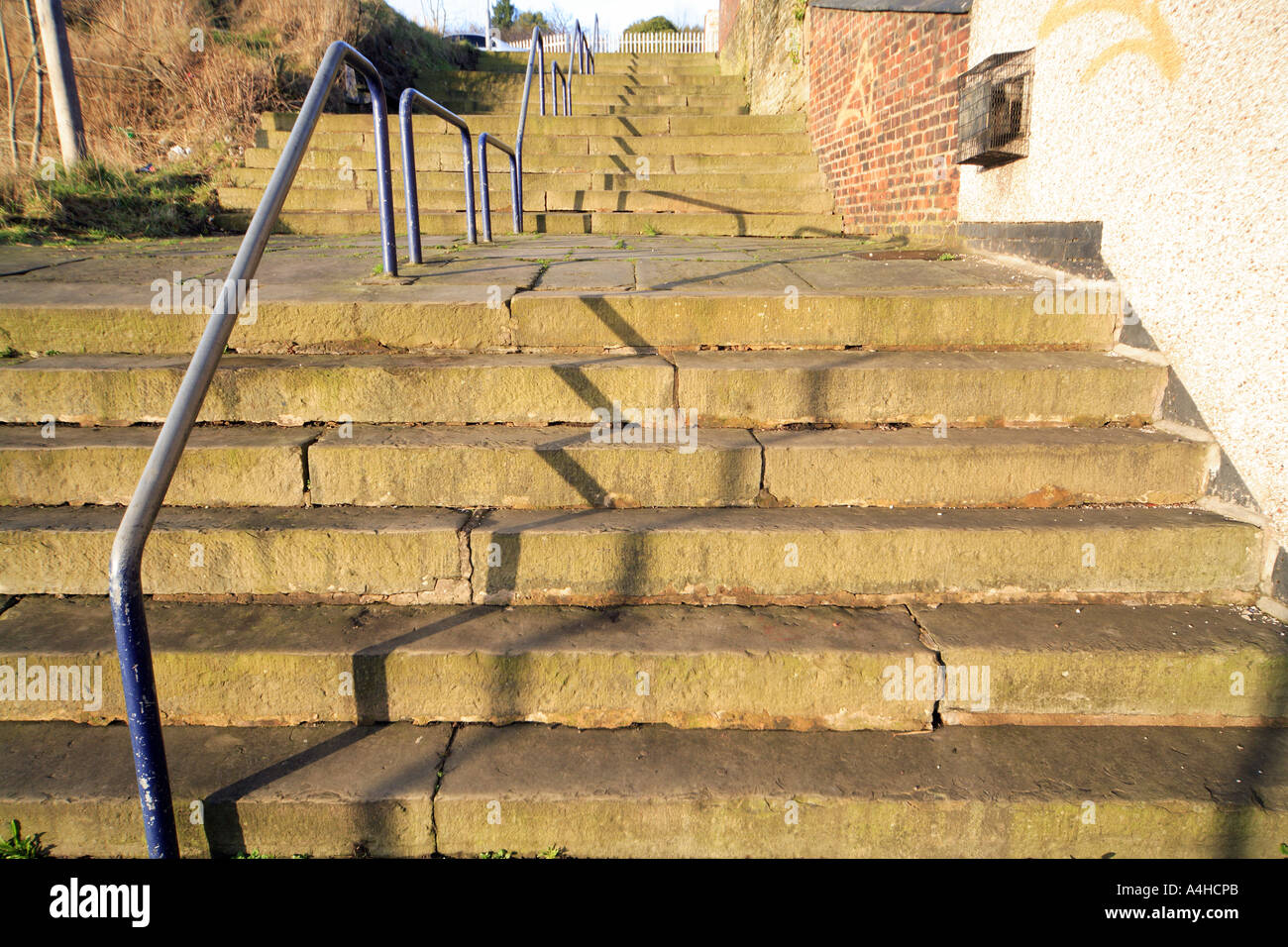 24 Steps Middleton Greater Manchester was painted by L S Lowry UK ...