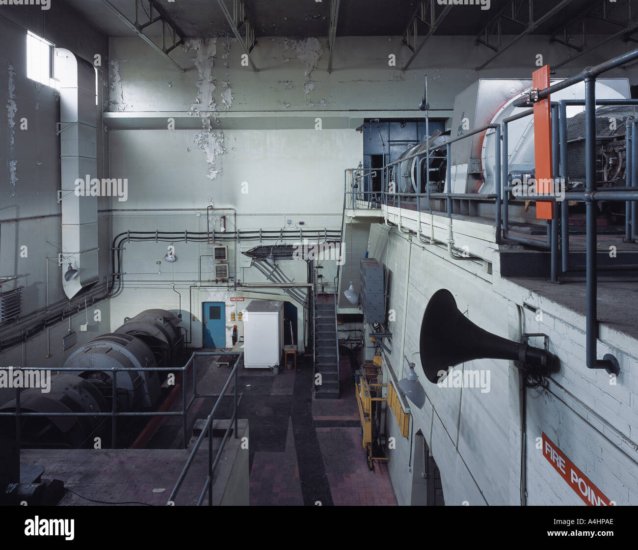 R133 TRANSONIC WIND TUNNEL - Stock Image