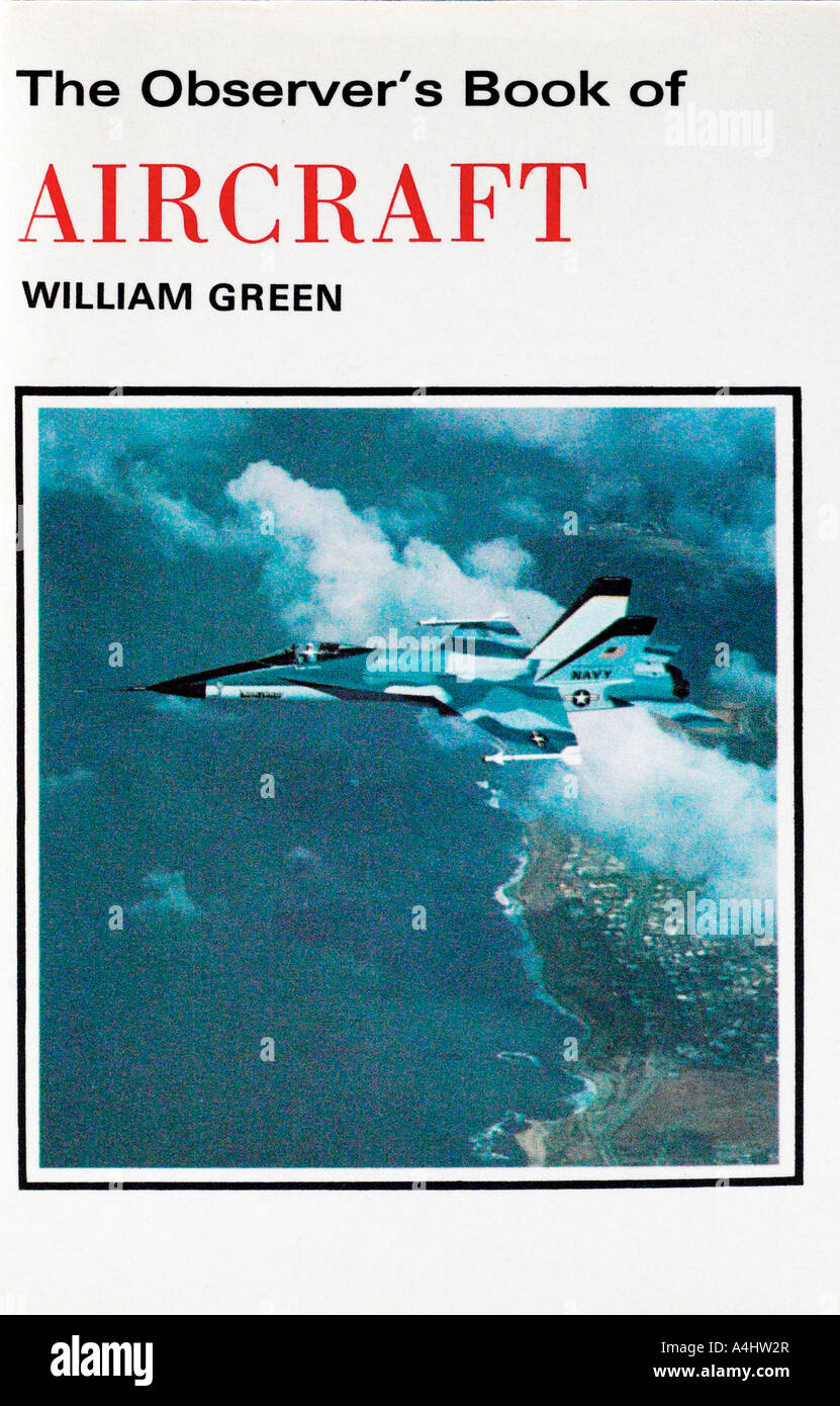 The Observer Book of Aircraft 1970s FOR EDITORIAL USE ONLY - Stock Image