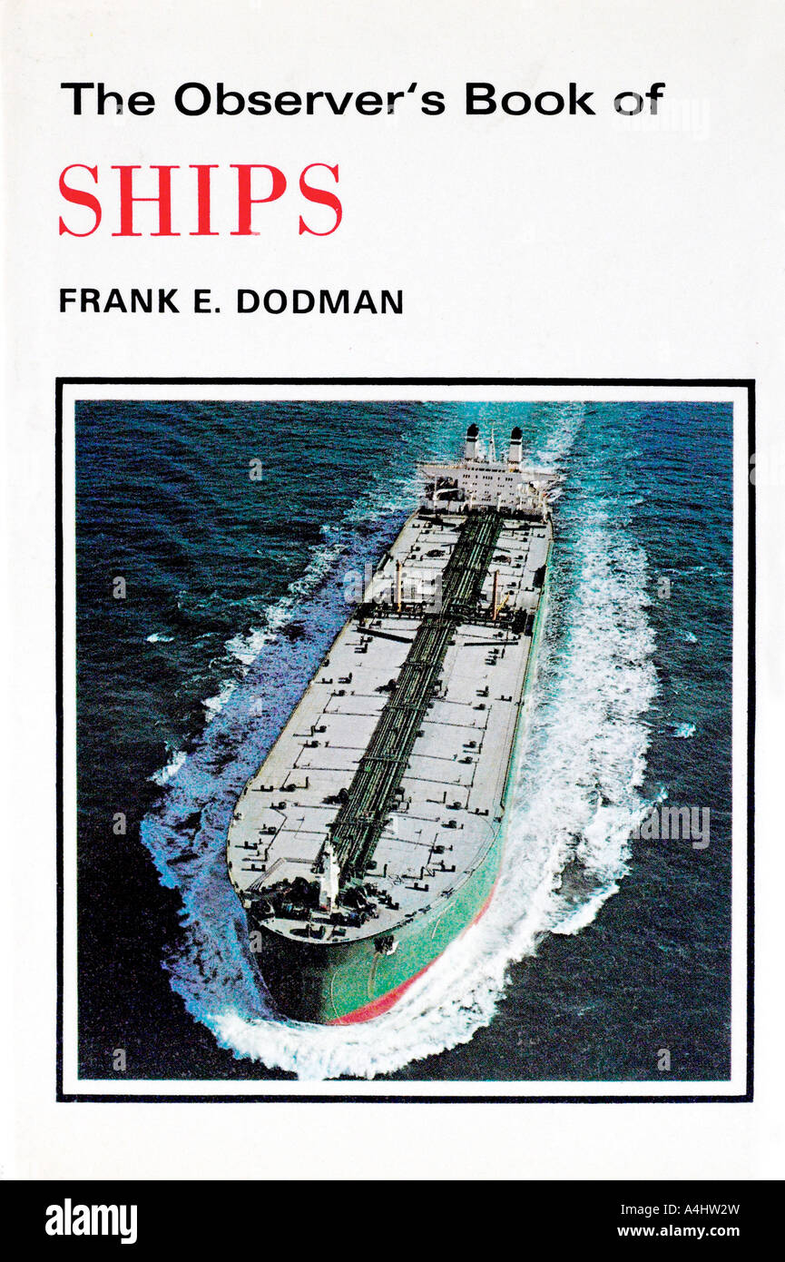 The Observer Book of Ships 1970s FOR EDITORIAL USE ONLY - Stock Image