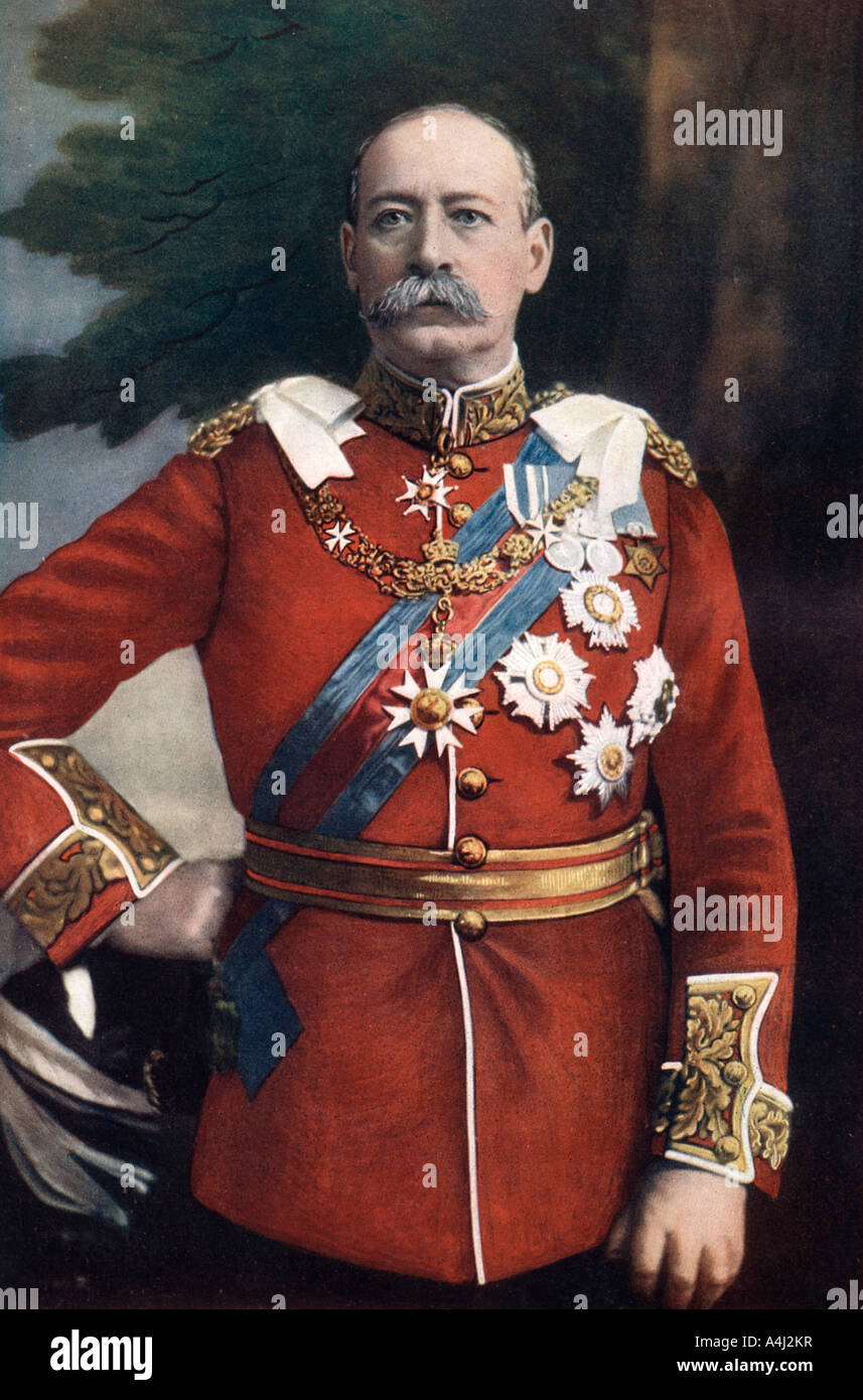 General Sir Francis Wallace Grenfell British soldier 1902  - Stock Image