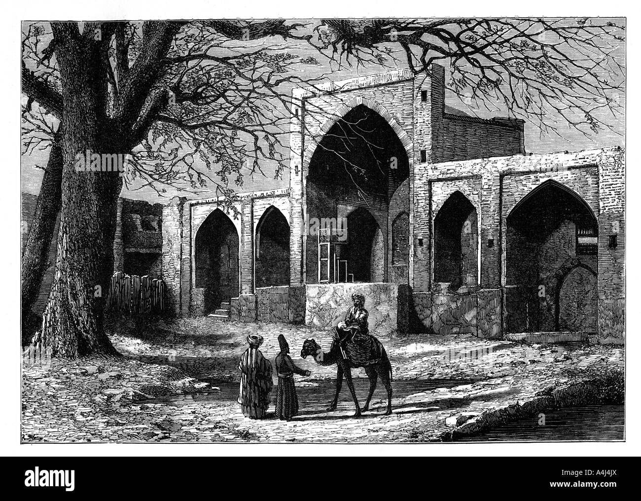 The tomb of Nadir Shah of Persia at Mecca 1688 1747 c1890