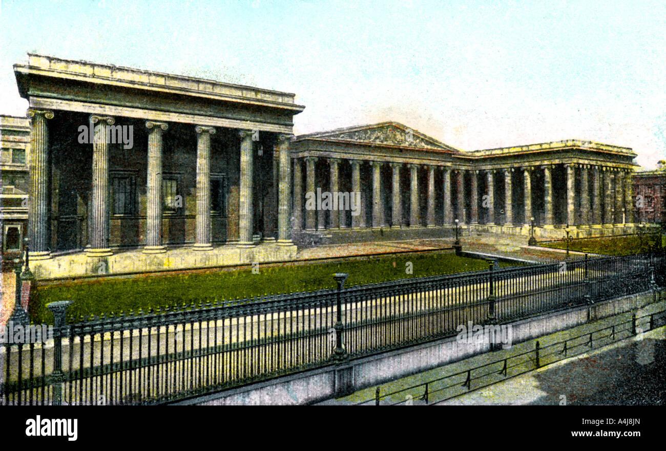 The British Museum London 20th Century  - Stock Image