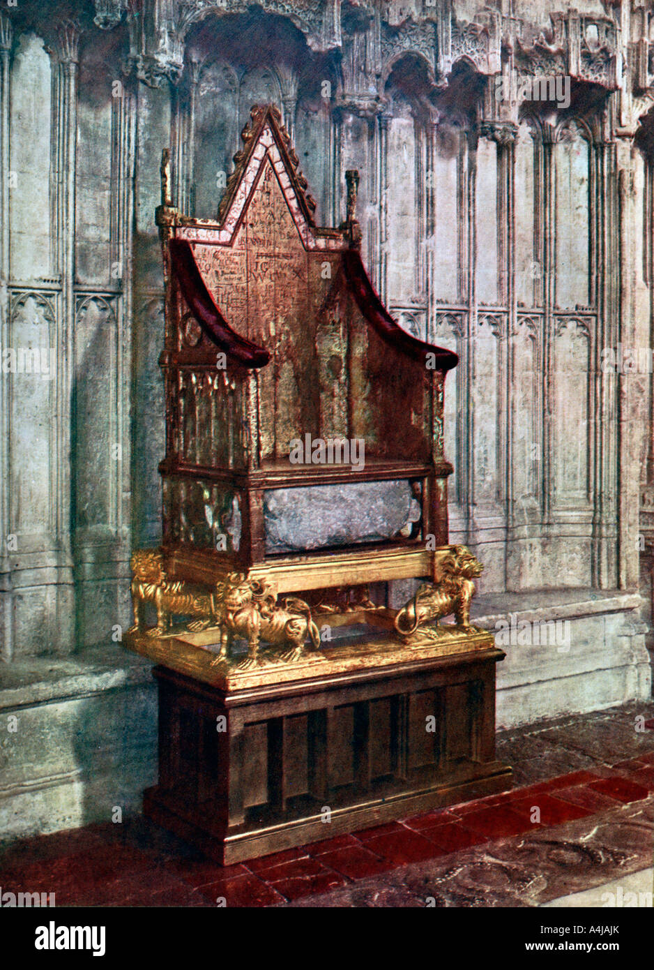 Who other than the reigning monarch gets to sit on the ... |Westminster Abbey Throne