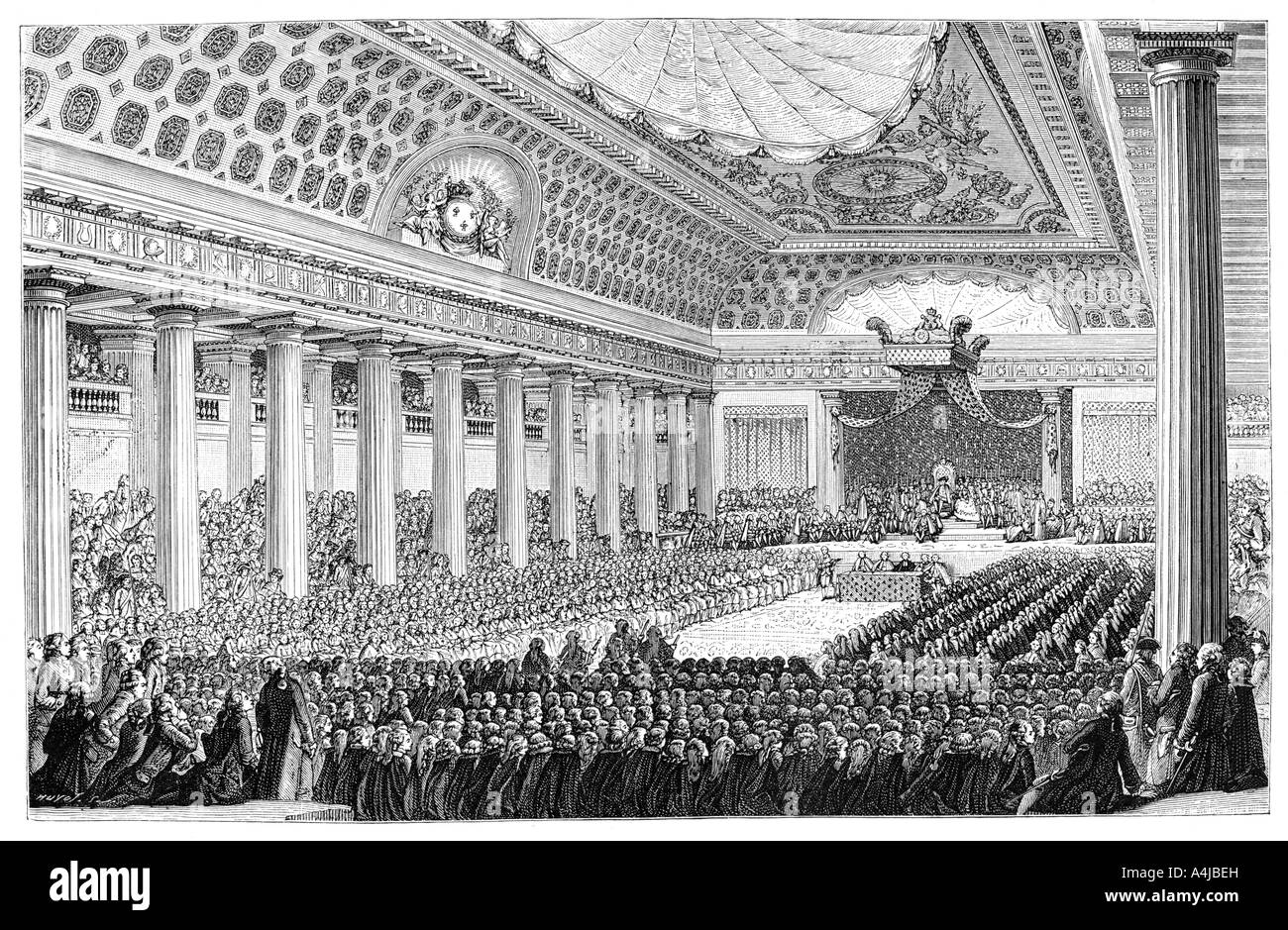 Estates General France Stock Photos. Opening Of The Estates General Versailles 1789 1885 Stock. Wiring. 1789 Estates General Diagram At Scoala.co