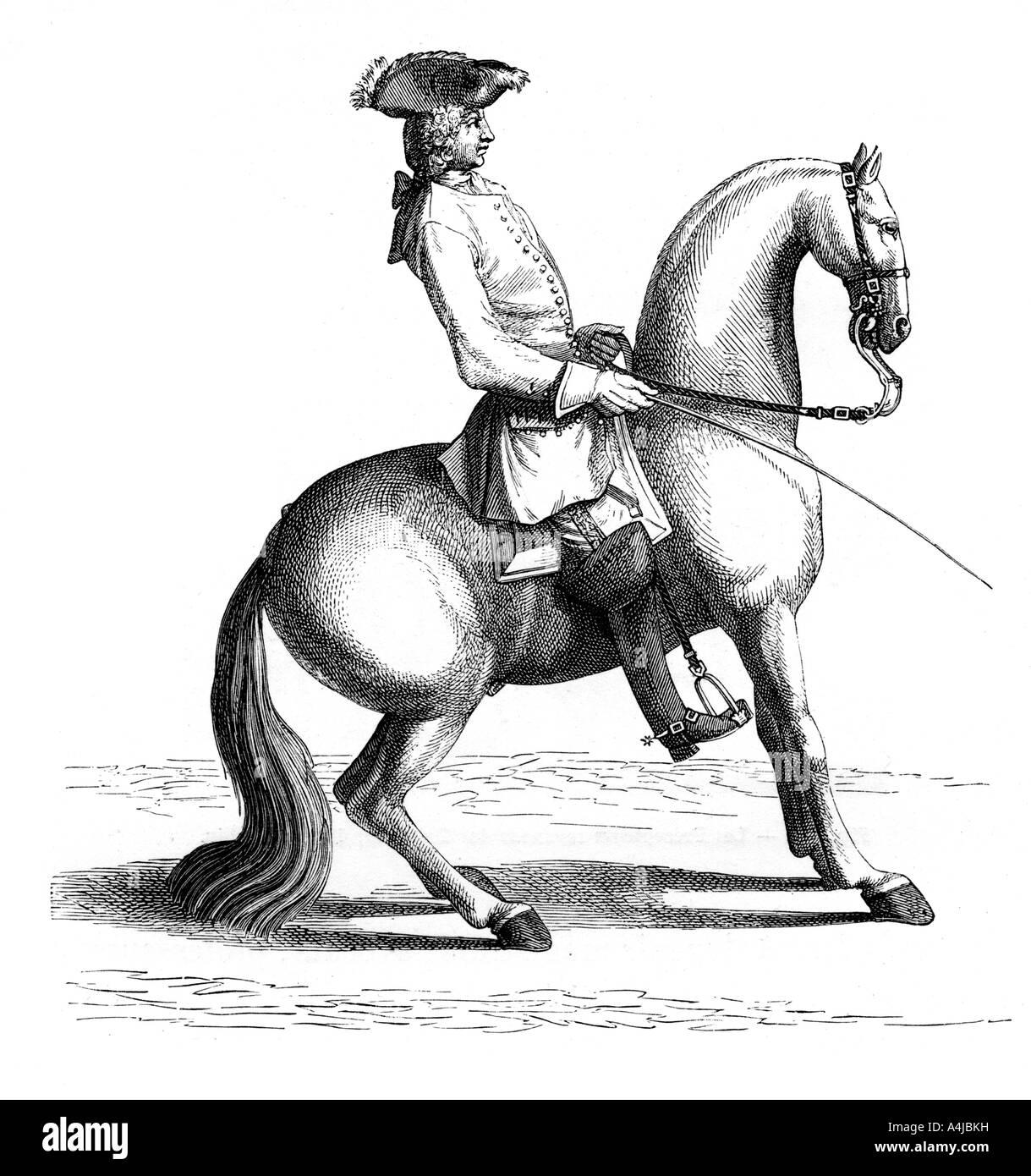 Baron of Eisenberg 1727 1885  - Stock Image
