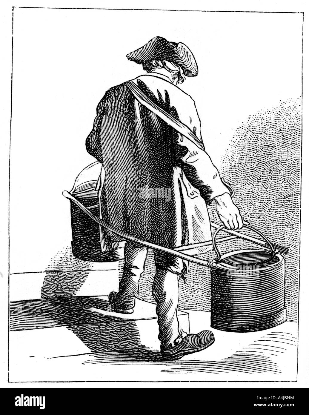 Water Carrier 1737 1742  - Stock Image