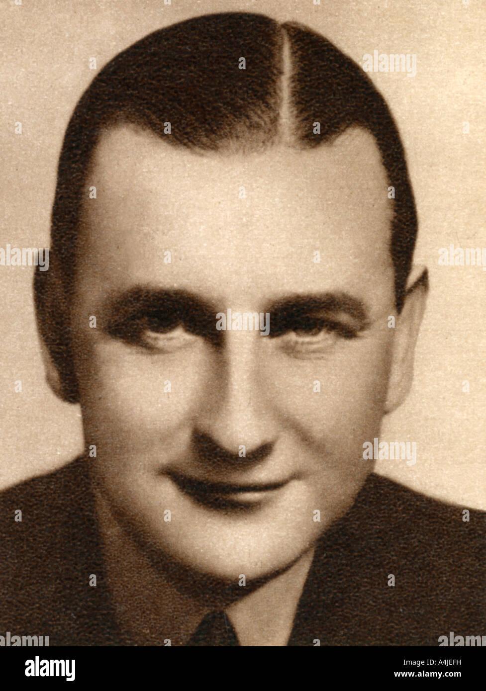Herbert Wilcox British film producer 1933  - Stock Image