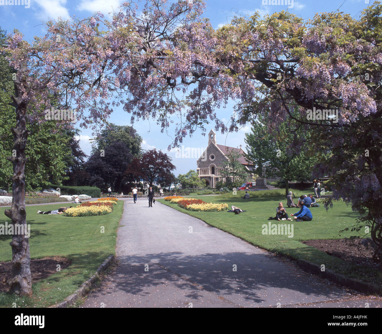 Forbury Gardens, Reading, Berkshire, England, United Kingdom Stock Photo