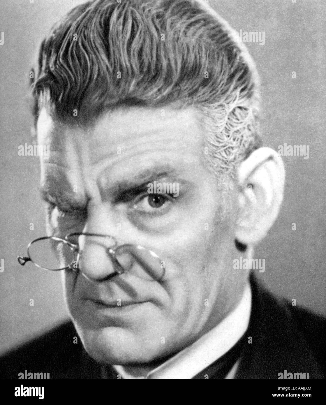 Will Hay Black and White Stock Photos & Images - Alamy