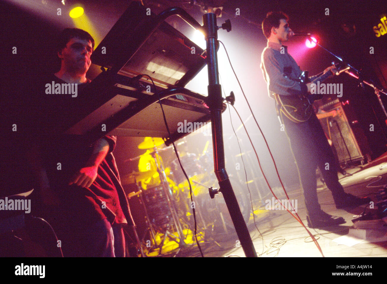 Pop Rock concert in KGB. - Stock Image