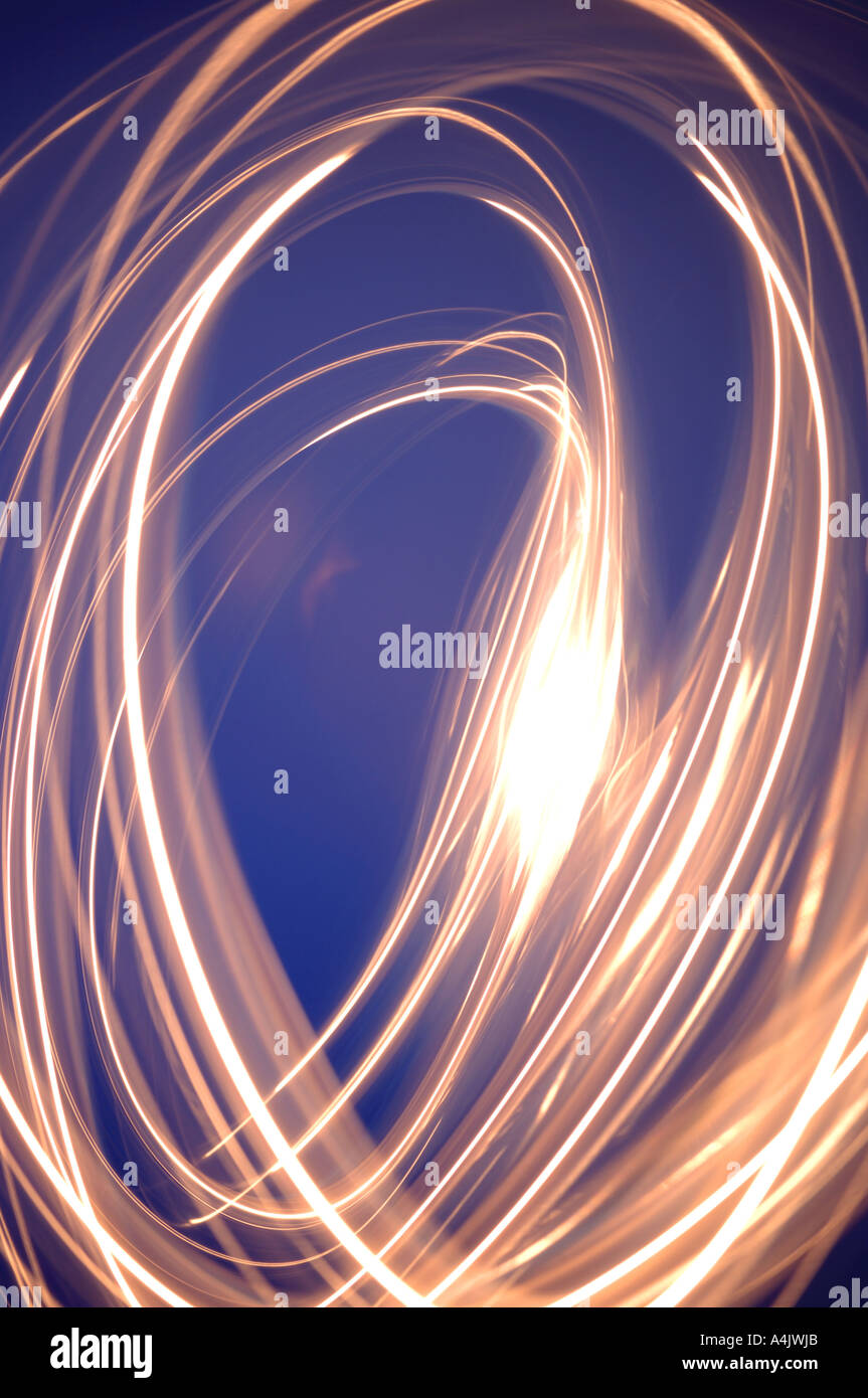 Abstract light pattern - Stock Image