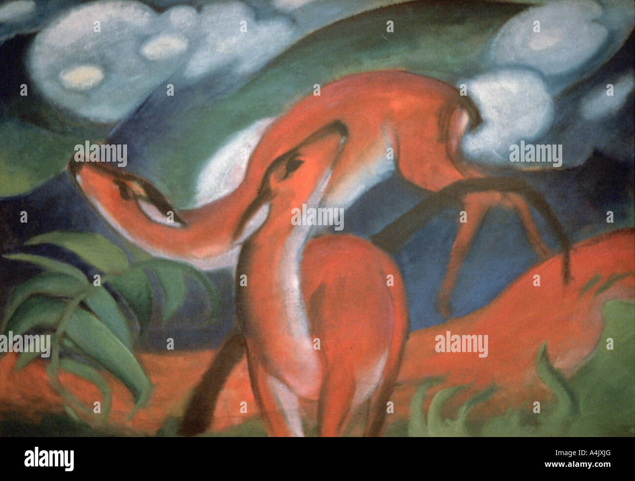 Franz Marc Artist High Resolution Stock Photography And Images Alamy