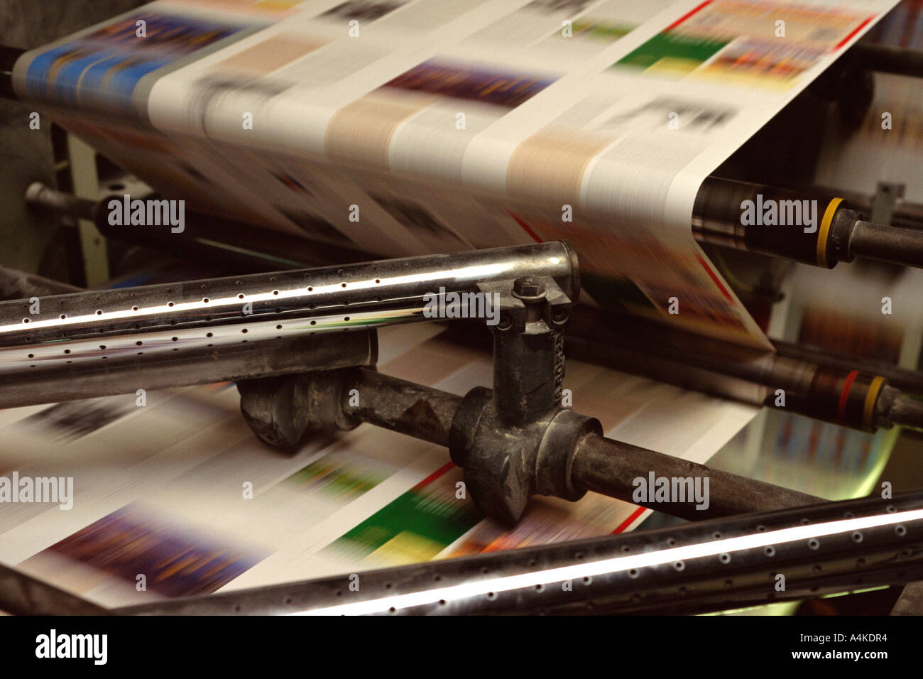 Printing press - Stock Image
