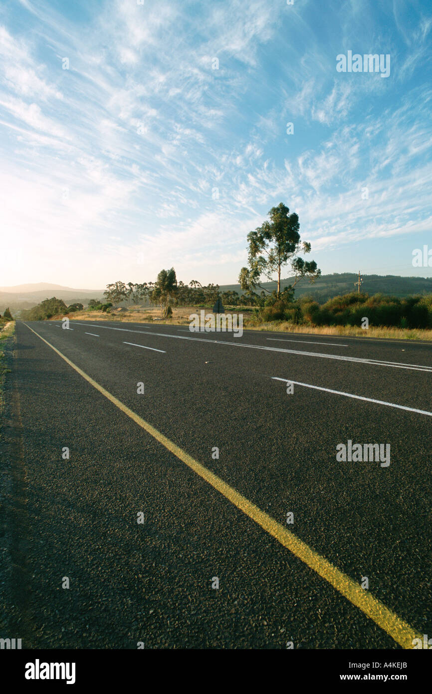 South Africa, Western Cape, road - Stock Image