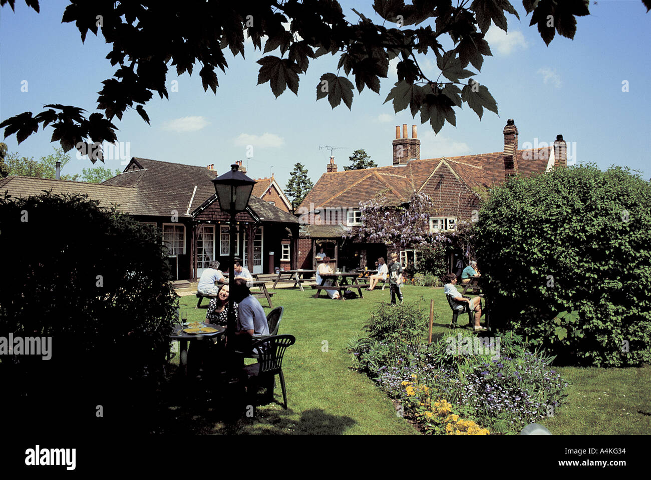 The Kings Head at Little Marlow - Stock Image