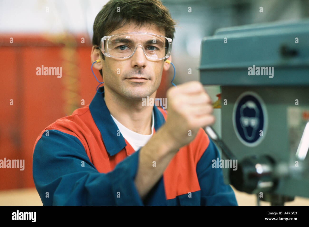 Manual worker - Stock Image