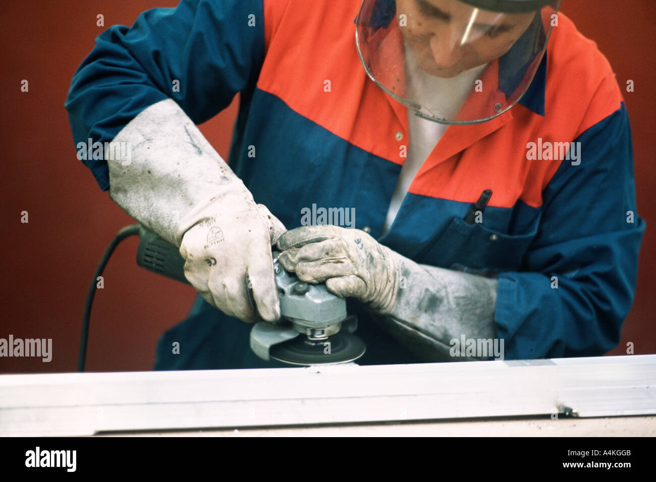 Manual worker Stock Photo