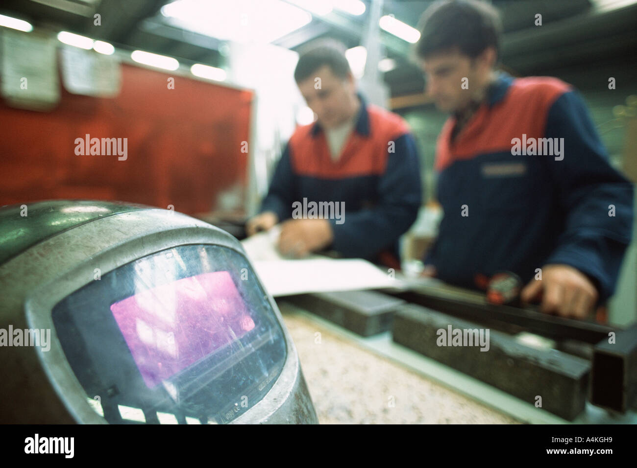 Manual workers - Stock Image
