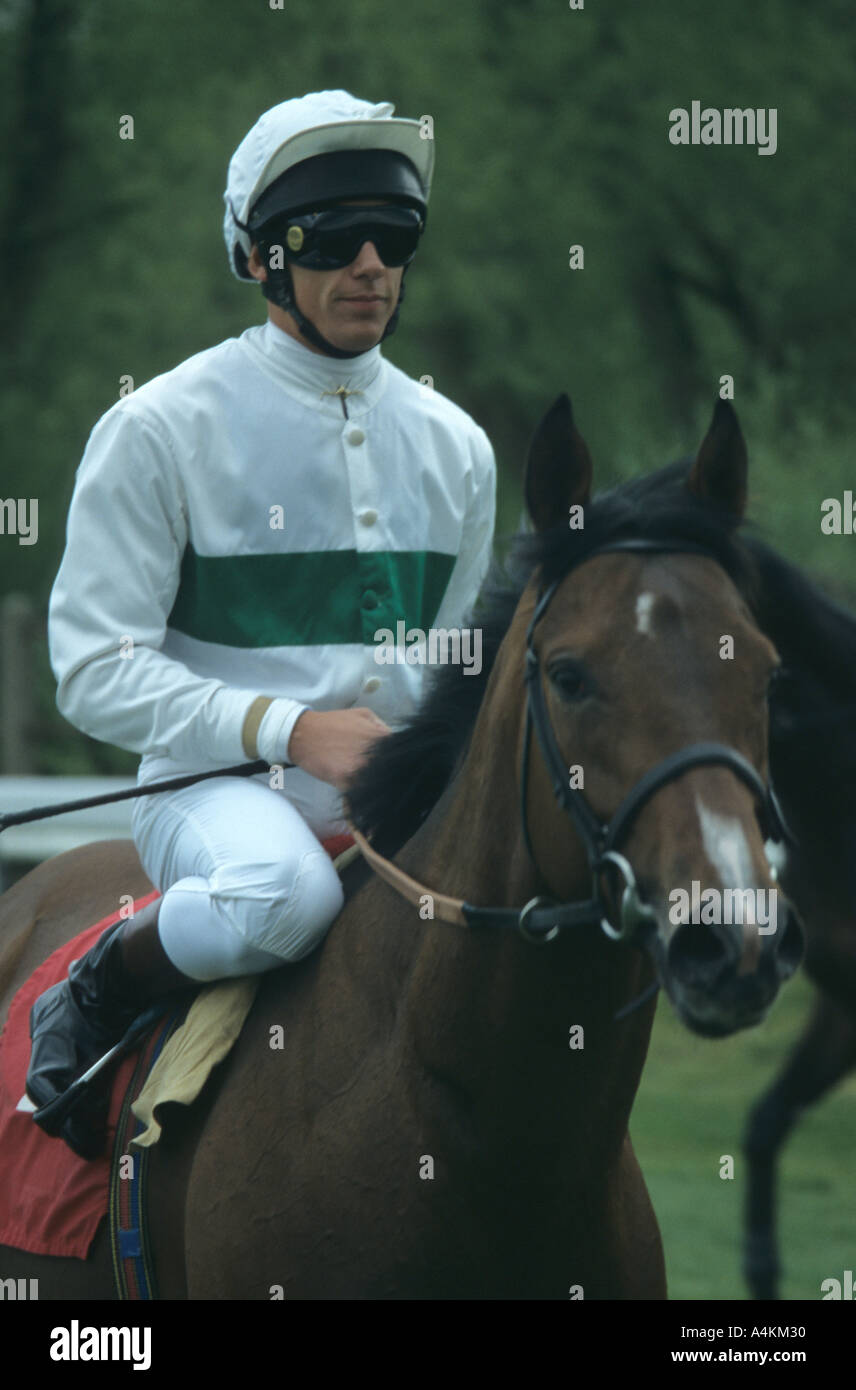 Frankie Dettori At Chester Races - Stock Image