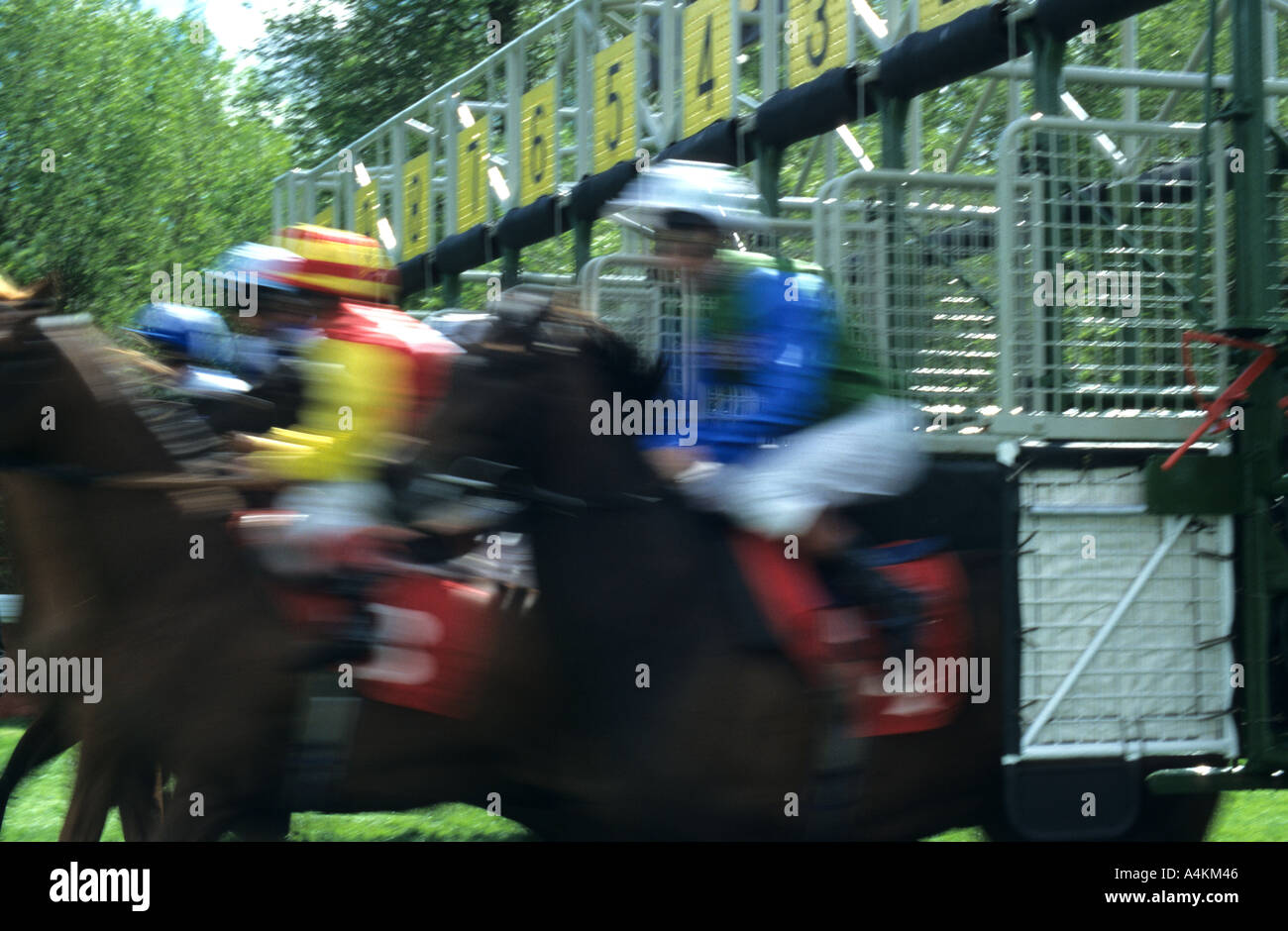 Speedy Start At Chester - Stock Image