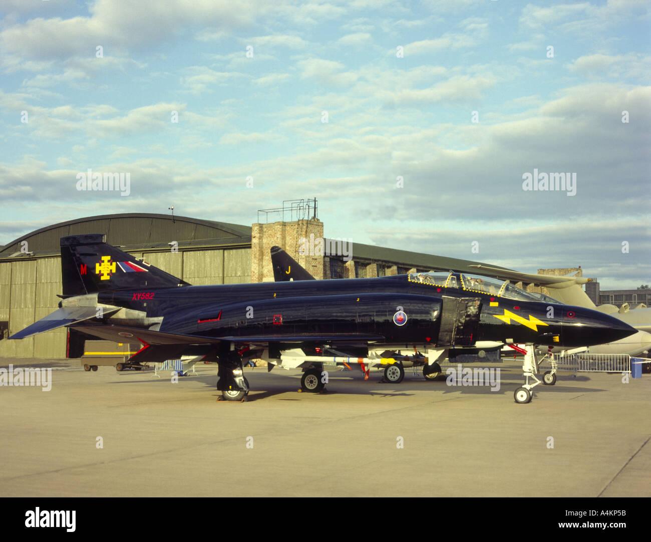 McDonnell Douglas F4 FG1 M Phantom Black Mike XV582.  GAVM 2044-85 Stock Photo