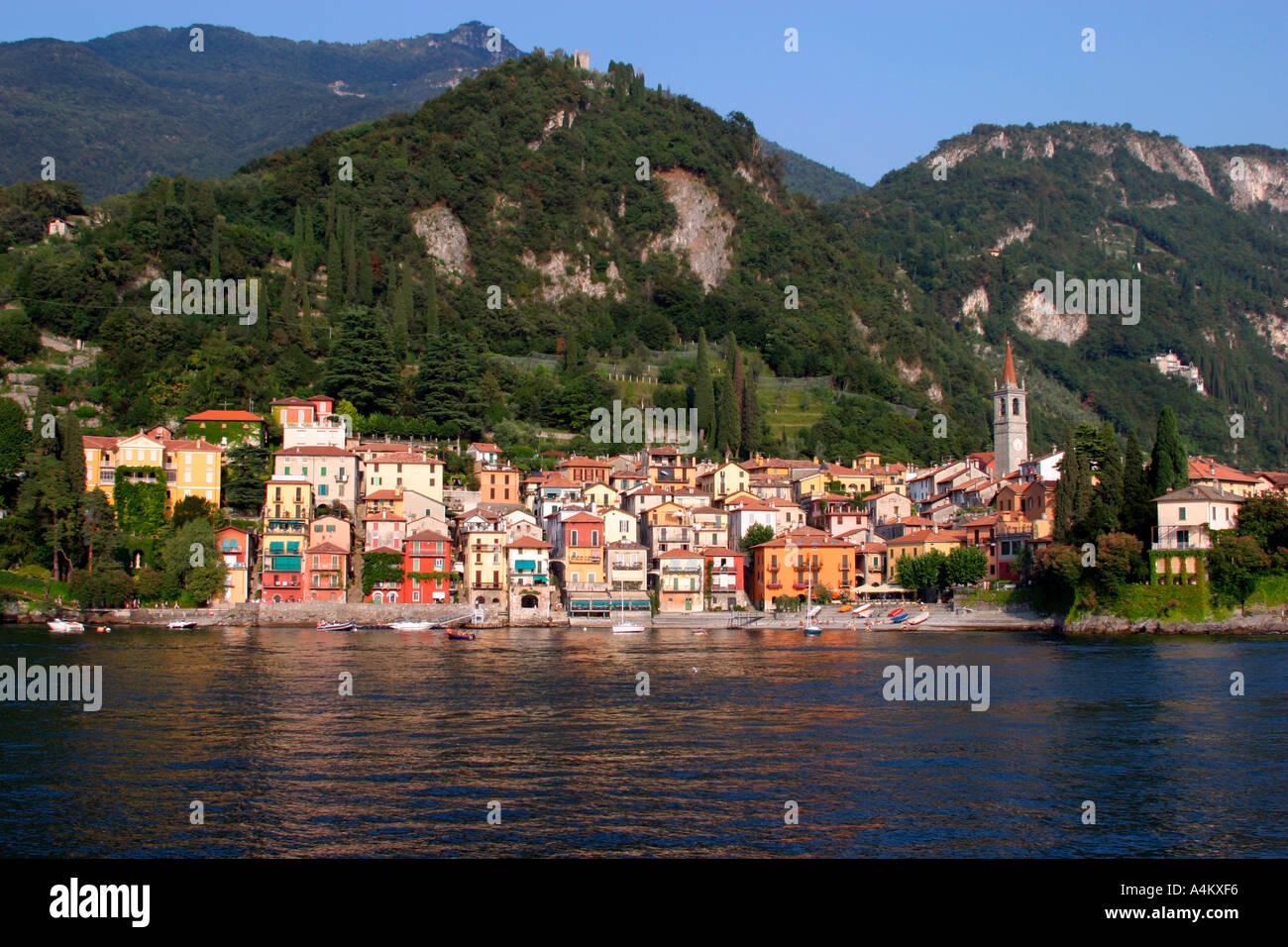 Varenna Lake Como - Stock Image