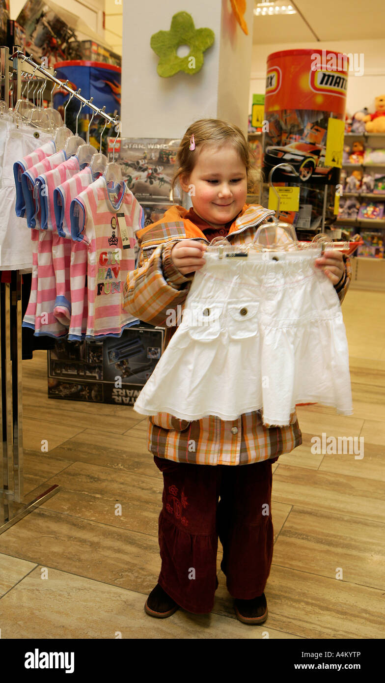 FASHION FOR KIDS - Stock Image