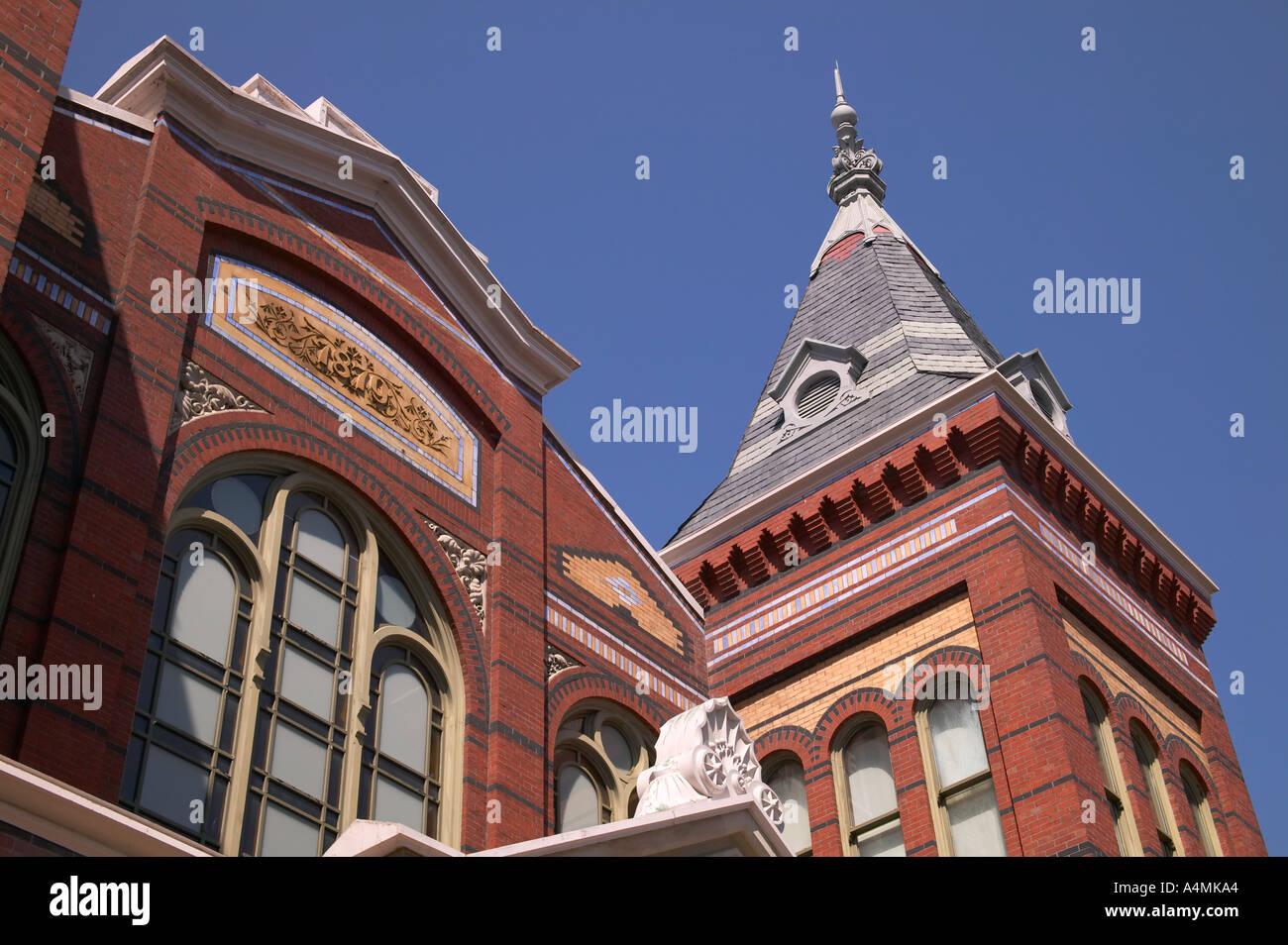 The Smithsonian Arts and Industries Building circa 1879 Washington DC USA - Stock Image