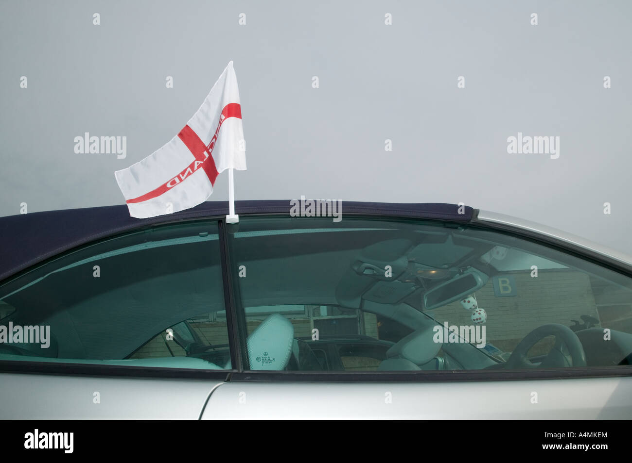 England Supporter - Stock Image