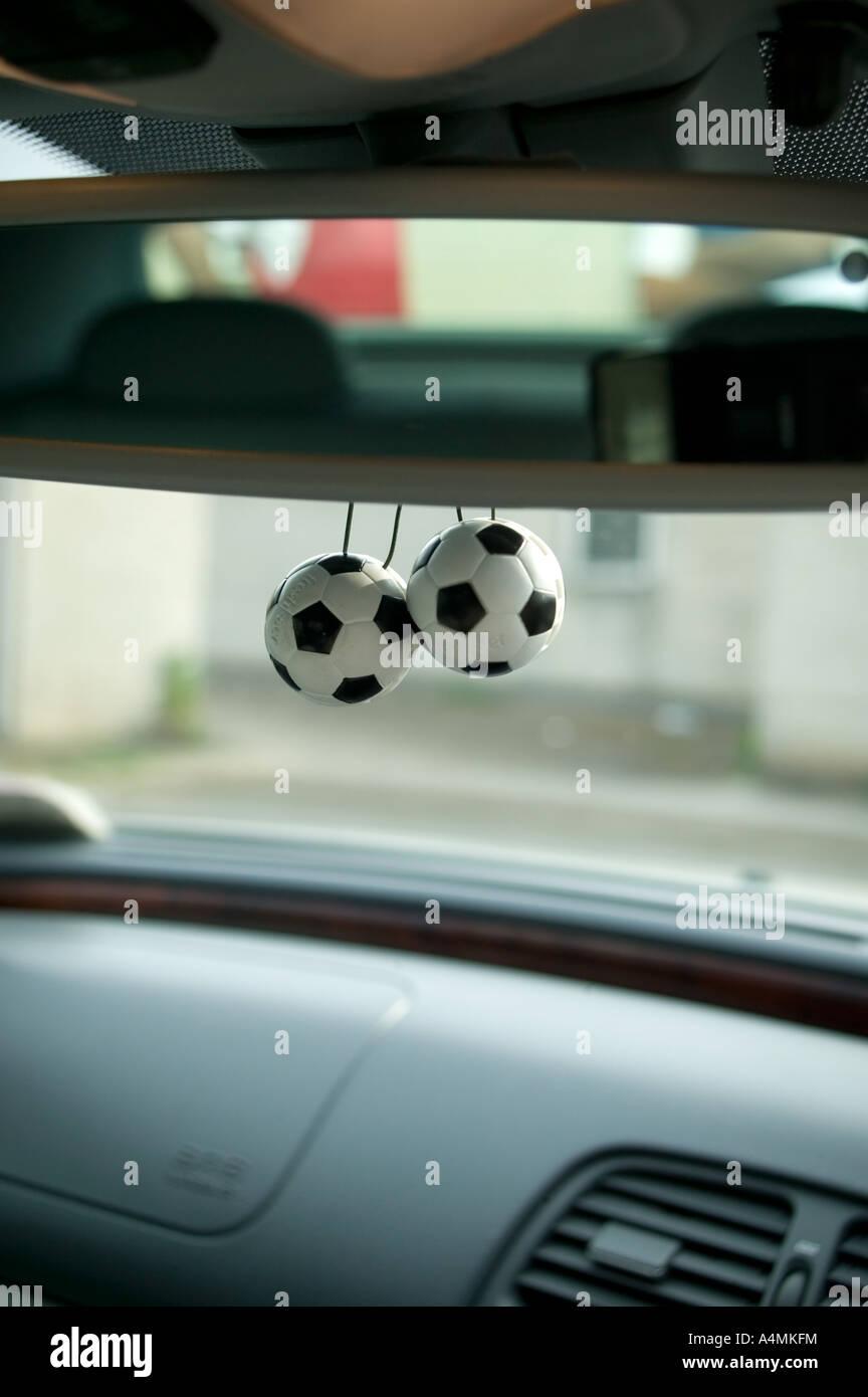 Football Car - Stock Image