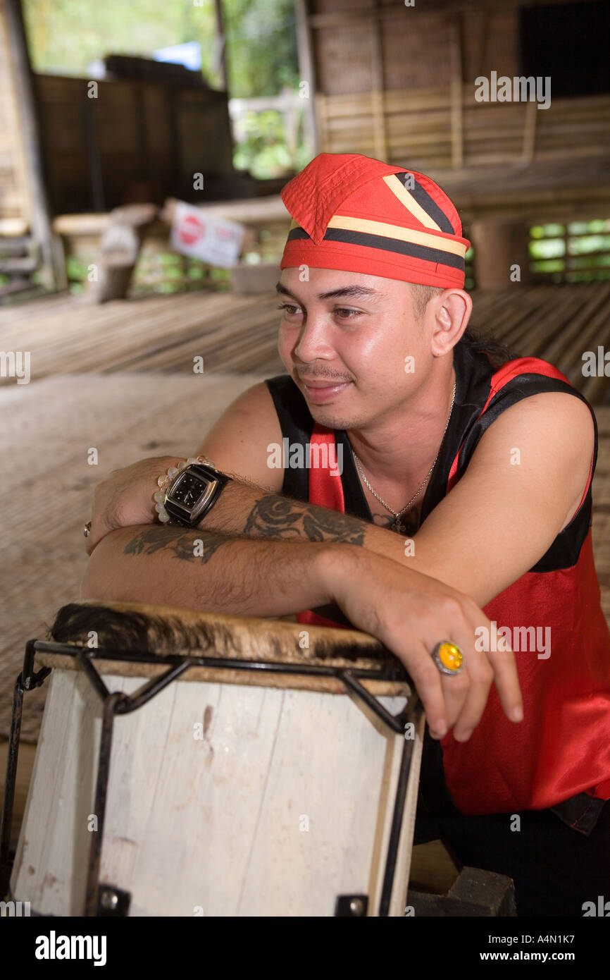 Borneo Tribe Tattoo High Resolution Stock Photography And Images Alamy