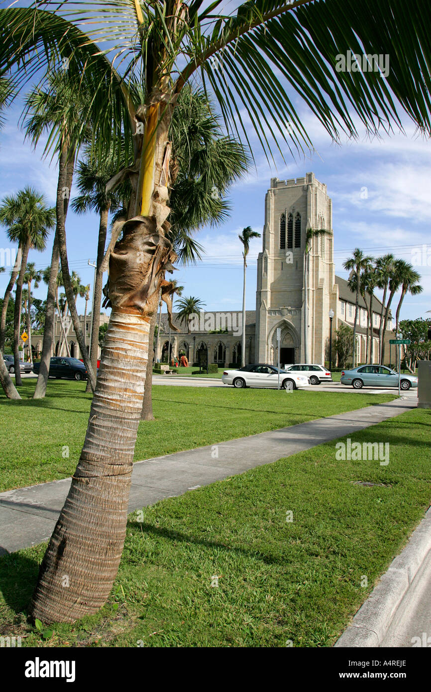 Episcopal church of Bethesda by the sea Palm Beach Florida United ...