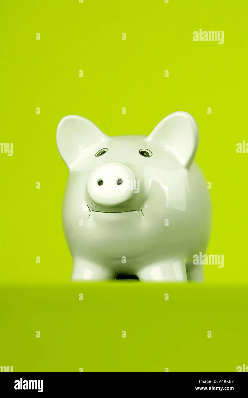 piggy bank piggybank Sparschwein - Stock Image