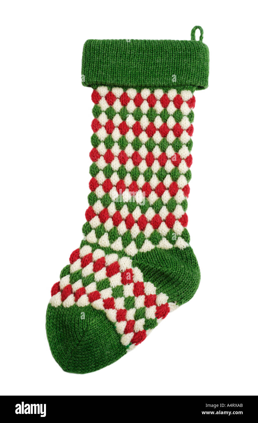 Christmas Stocking - Stock Image