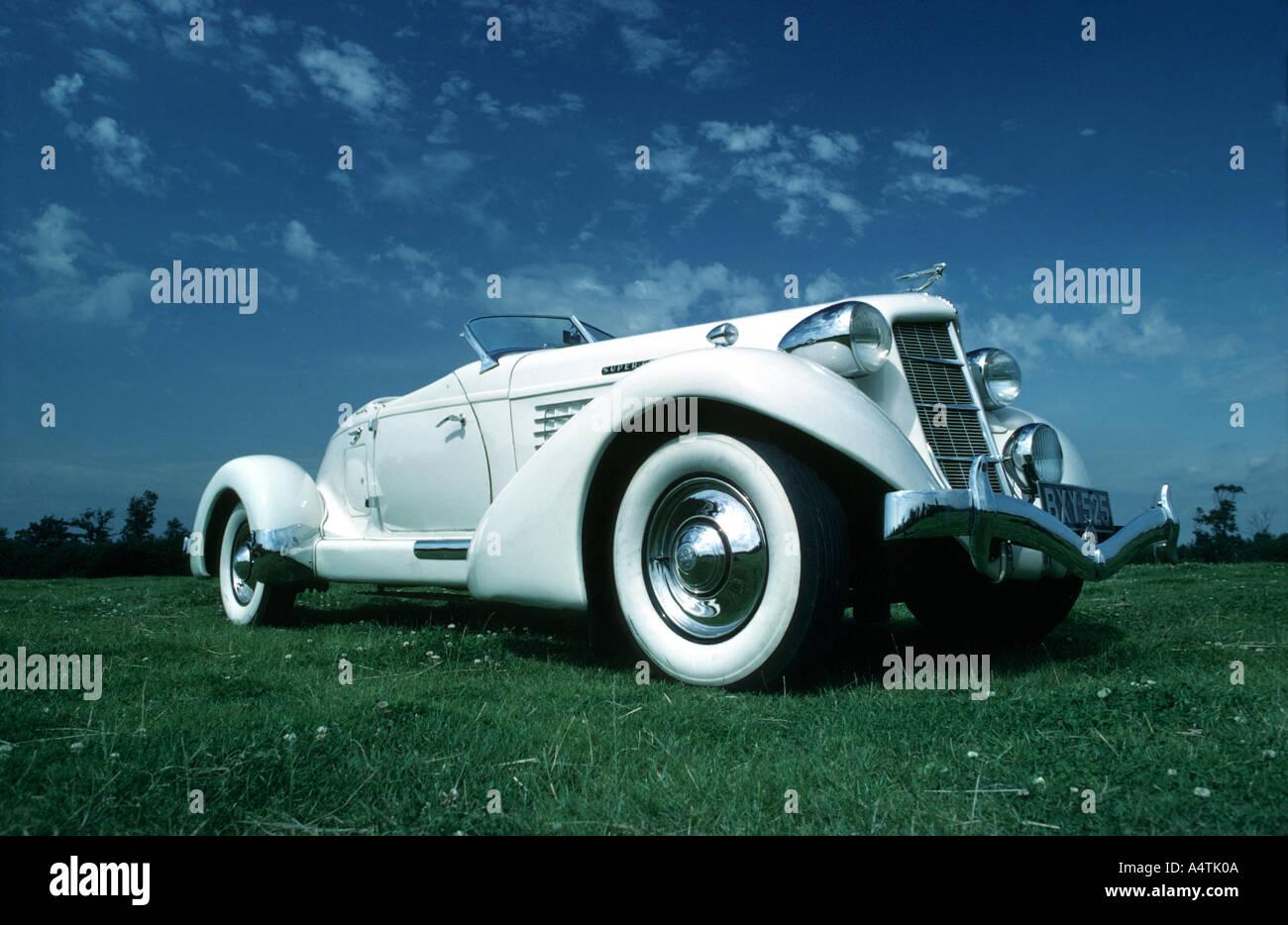 Auburn vintage car - Stock Image