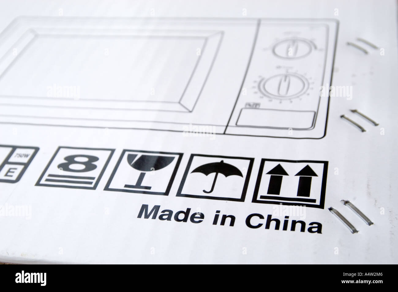 Made in China - Stock Image