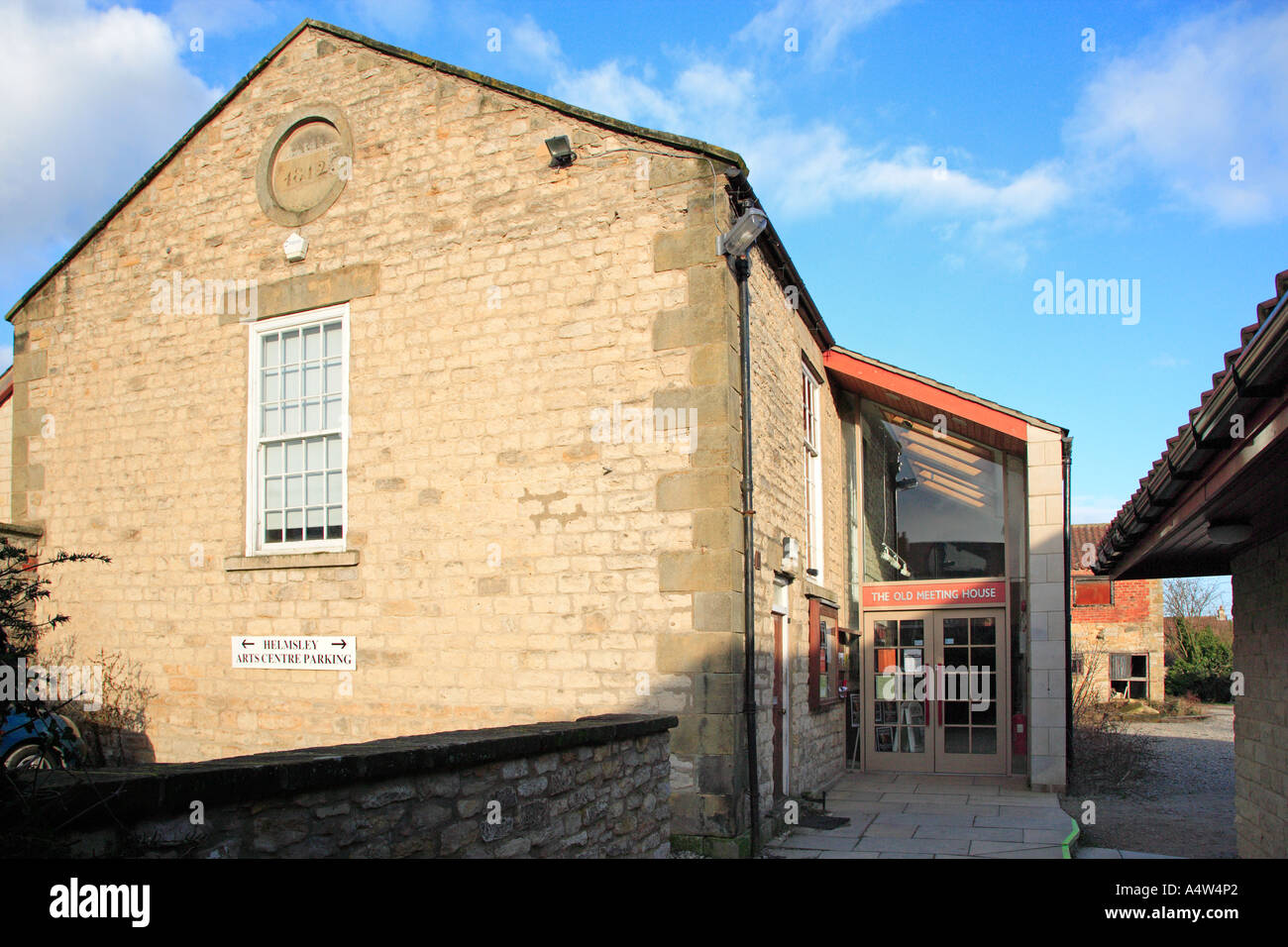 Helmsley Arts Centre in the former Friends Meeting House Helmsley ...