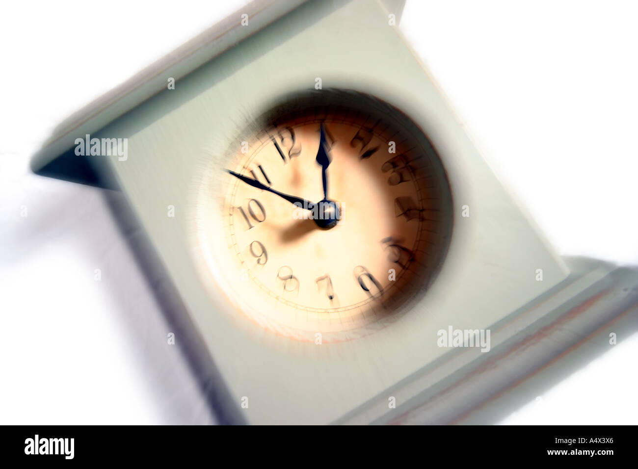 mantle clock - Stock Image