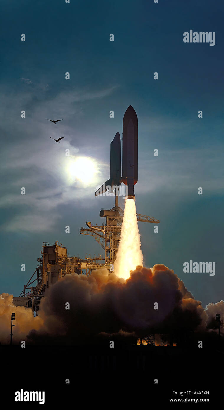 space shuttle on launchpad - photo #42