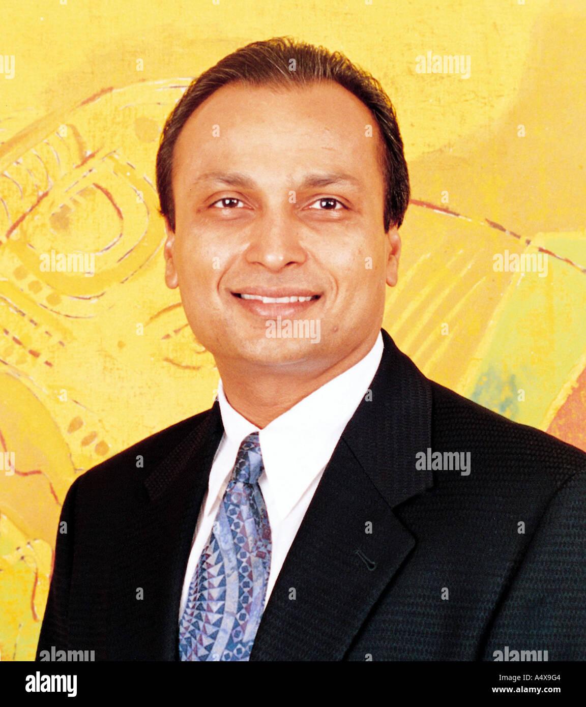 Anil Ambani Mumbai Maharashtra India - Stock Image