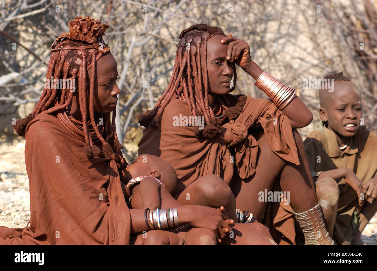 Himba woman - Stock Image